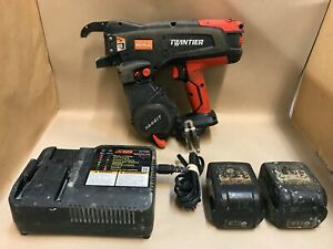 Max Rb441t Twintier Cordless Rebar Tie Wire Machine W 2 Batteries