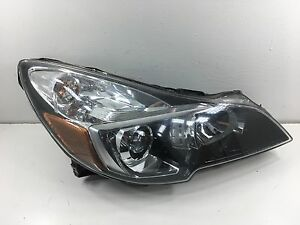 Genuine 2013 2014 Subaru Legacy Headlight Oem Right Rh Passenger Oem