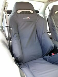 Honda Civic Type R Ek9 Recaro Seats Cover 2 Single Piece black