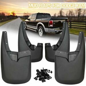 For Dodge Ram 1500 2500 3500 2009 2018 2016 Splash Guards Mud Flaps Front Rear