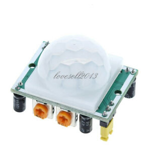 New Infrared Ir Pir Sensor Switch Module Body Motion Lamps Auto On Off Light