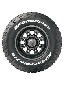 8 X Tyre Stickers Permanent Raised White Bfgoodrich Mud Terrain 265 75 16