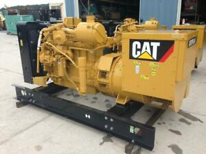 __85 Kw Cat Natural Gas Unused Unit W 1 Yr Warranty Continuous Duty