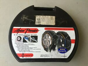 Alpine Premier 1525 Passenger Car Tire Snow Chains Fits 13 Thru 15 Tires