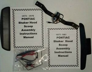 Trans Am Scoop Functional Shaker Kit 1973 1974 1975 1976 1977 1978 1979 1980 81