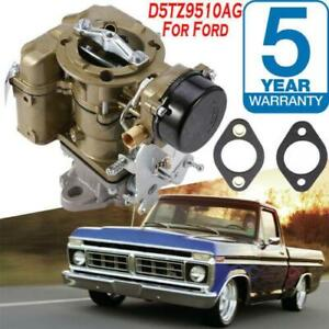 Yf C1yf 6 Cil Carter Carburetor D5tz9510ag For Ford 240 250 350 Engine 1975 1982