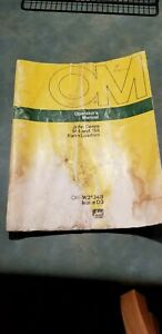 John Deere 148 And 158 Farm Loader Operator s Manual Om w21348 Issue D3