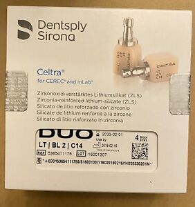 Celtra Duo For Cerec And Inlab Blocks Shade Lt Bl2 C14