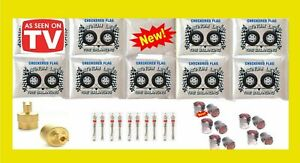 Tire Balance Beads Premium Ceramic 10 Bag Kit 8oz Bead Bags Bulk W caps