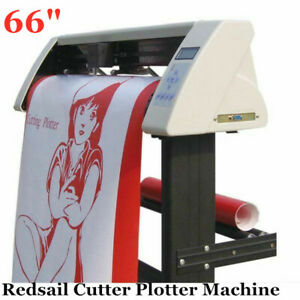 66 Redsail Vinyl Sign Sticker Cutter Plotter Machine With Contour Cut Function