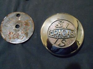 Vintage Cragar Ss Center Cap Chrome 1 3 7 16 Od