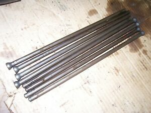 Vintage Ji Case 511 Gas Tractor engine Push Rod Set 1959