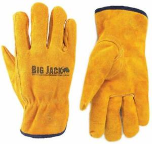 Better Grip Premium Grade Insulated Cowhide Leather Driver Gloves Bgby6gd