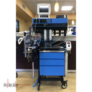 Narkomed 2b Drager Anesthesia Machine With Patient Monitor And Many Accessories