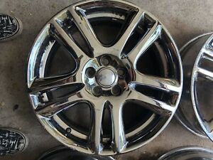 Jaguar 18 Chrome Rims From X type Fits All Years