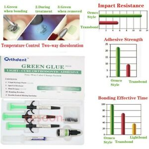 Ormco Style Dental Orthodontic Adhesive Light Cure Resin Ortho Braces Bond Paste