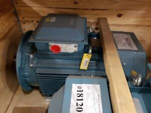 New Baldor Abb Motor 40hp 30kw 1483 Rpm 55 Amps 50 Hz 400 Volts 3 Phase