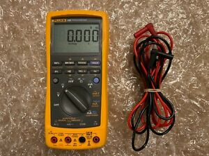 Fluke 789 Processmeter Digital Multimeter With Leads Great Condition