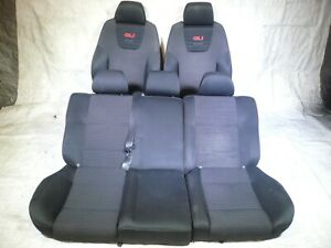 Vw Mk4 Jetta Golf 4 Door 99 05 Gti Gli 20th Set Of Recaro Big Bolster Seats Oem