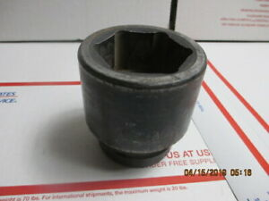 O104 Snap On Tools 2 6 Point Impact 1 Inch Drive Socket Im643