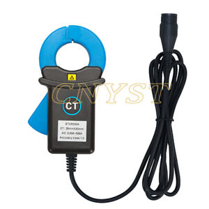 Clamp Leakage Current Sensor Ac Phase Power Energy Current Probe