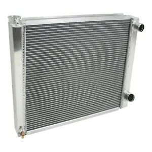 Chevy Aluminum Performance Racing Radiator 27 5 2 Row Double Pass Universal