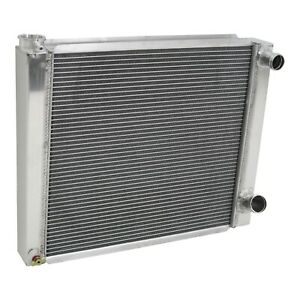 Chevy Aluminum Performance Racing Radiator 24 2 Row Double Pass Universal