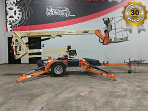 2013 Jlg T350pneumatic Towable Boom Lift Dc Electric Outriggers Stabilzers