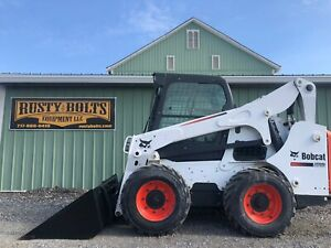 2014 Bobcat S750 Skid Steer Loader Heat And Ac Only 501 Hours Cheap Shipping