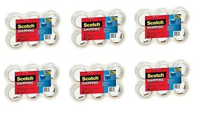 New Scotch Heavy Duty Shipping Packaging Tape 1 88 Inches X 54 6 Yards 36 Rolls