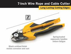 Titan Tools 11468 7 Wire Rope Cable Cutter