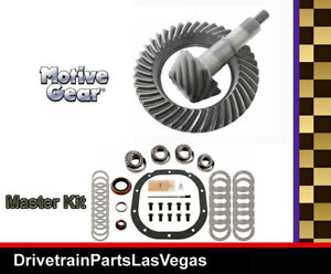 Ford 8 8 10 Bolt 4 56 Ratio Ring And Pinion Gear Set Master Install Kit Motive