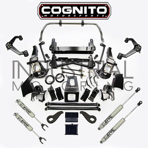 Cognito Motorsports 2011 2019 Gm 2500hd 4wd 7 Inch Stage 2 Lift Kit Fox Shocks