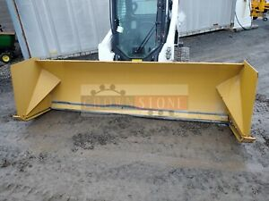 2016 Protech Sp10s 10 Snow Pusher For Skid Steer Loaders Ssl Quick Attach