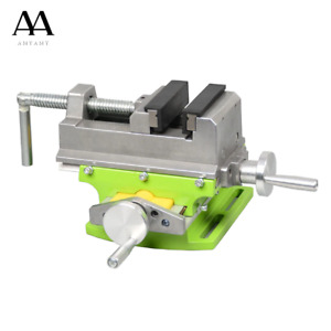 Cross Slide Vise Vice Table Compound Table Worktable Bench Aluminum Alloy Body