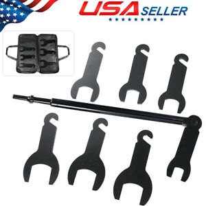 Pneumatic Fan Clutch Wrench Set Removal Tool For Ford Gm Chrysler Jeep 43300 Usa