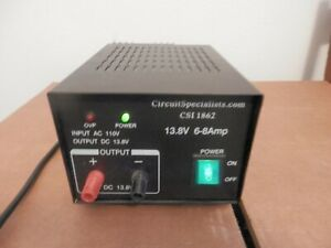 Circuit Specialists Csi 1862 13 8v 6 8a Power Supply