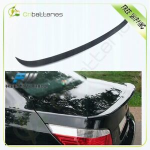 For 04 10 Bmw 5 Series E60 4dr Ac Increase Down Force Trunk Rear Spoiler Wing