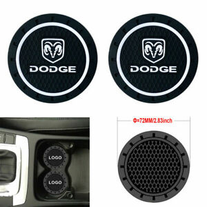 Coaster 2pc 2 75 Silicone Car Cup Holder Auto Insert For Dodge Us Seller