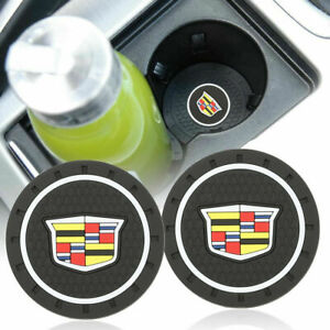 Coaster 2pc 2 75 Silicone Car Cup Holder Auto Insert For Cadillac Us Seller