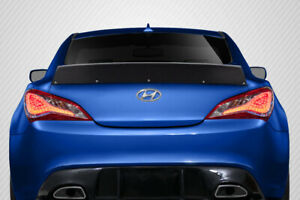 Carbon Fiber Rbs Wing For 2010 2016 Genesis Coupe Hyundai 115543
