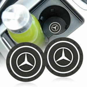 Coaster 2pc 2 75 Silicone Car Cup Holder Insert For Mercedes Benz Us Seller