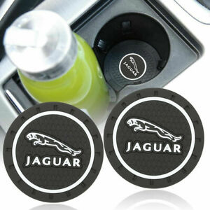 Coaster 2pc 2 75 Silicone Car Cup Holder Insert For Jaguar Us Seller