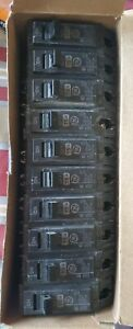 10 Ge General Electric Thqb Bolt On 1 Pole 15 Amp 120 240 Vac Circuit Breaker