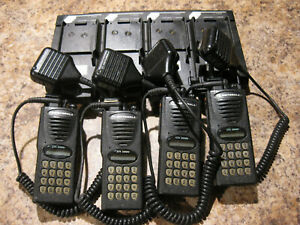 4x Motorola Lts2000 800 Mhz 3w Trunked Radio H10uch6dc5bn W Charger lot p805