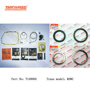 M3wc Transmission Master Rebuild Kit For Honda Civic 1 8 Cvt Transpeed T14800a
