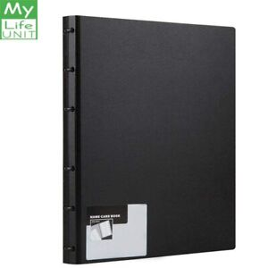 Mylifeunit Business Card Book Pvc Plastic Name Card Holder Book With 600 Busi