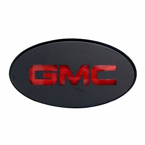 Trailer Hitch Receiver Cover Truck Oval Gmc Receiver Hitch Cover With Led Light