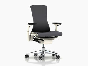 Embody Chair by Herman Miller Charcoal Rhythm Brand New