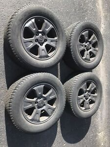 Set Of Four 17 Honda Ridgeline Pilot 2009 2015 Wheels And Tires
